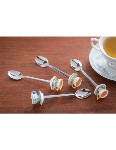 Coming Up Roses Teatime Stirrers (Set Of 4)