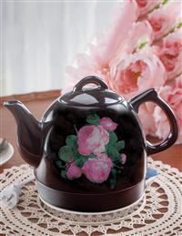 Blooming Roses Electric Hot Water Kettle