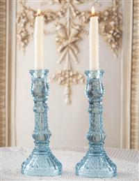 Ribbed Candlesticks (Pair)