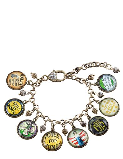 Votes For Women Charm Bracelet
