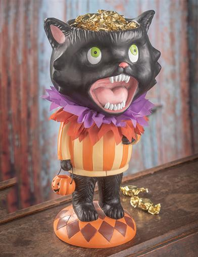 Screaming Cat Candy Dish
