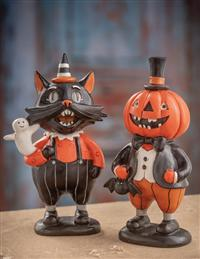 Tomcat & Jack Trick-or-treaters