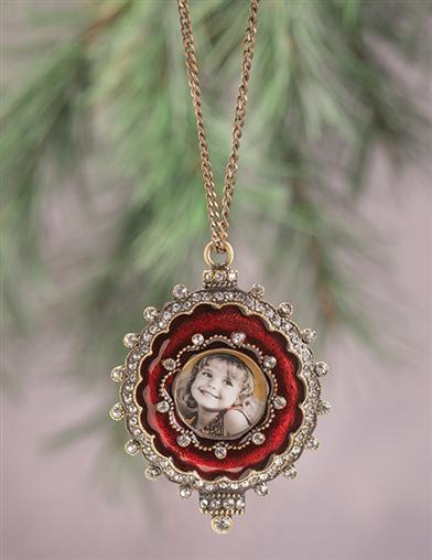 Forget-me-not Picture Frame Ornament