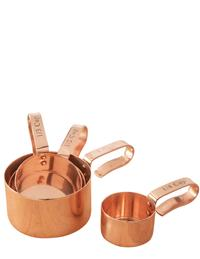 Copper Measuring Cups (Set Of 4)