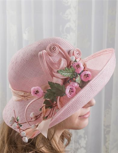 Kathy Jeanne Pretty In Pink Hat