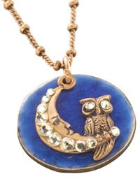 Once In A Blue Moon Necklace By Anne Koplik