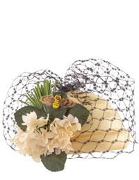 Kathy Jeanne Bee In Your Bonnet Bee Hive Hat