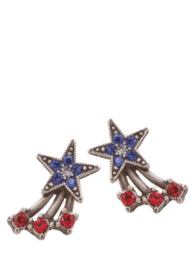 Star-spangled Earrings