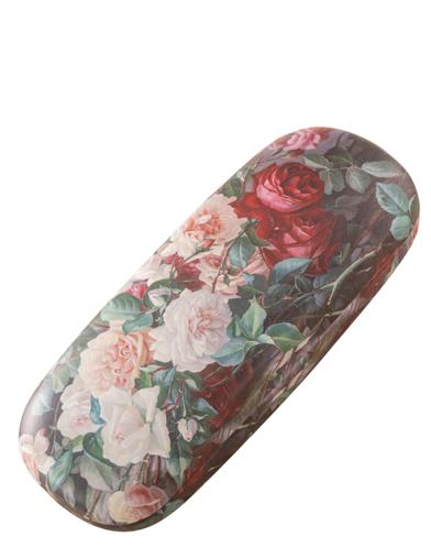 Bowl Of Roses Eye Glasses Case