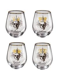 Pick Your Poison Wine Glasses (Set Of 4)