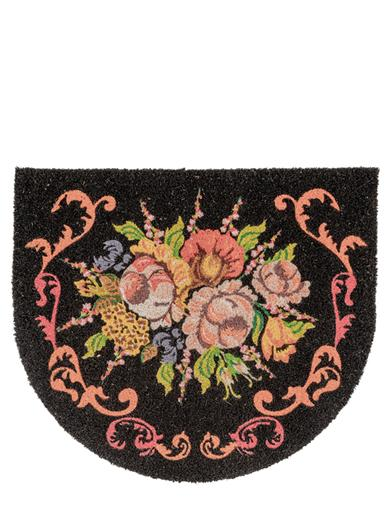 Fall Flora Door Mat