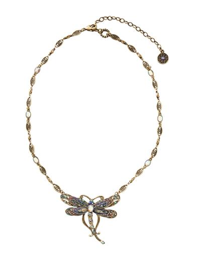 Aurora Dragonfly Necklace
