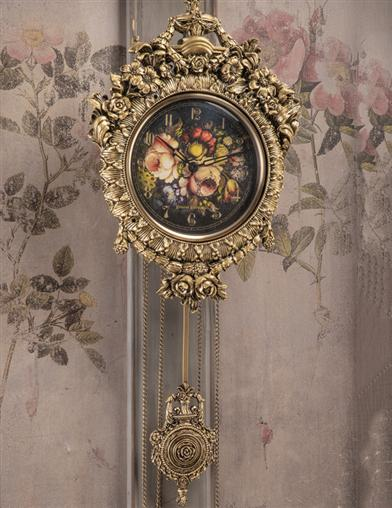 Gilded Age Wall Clock