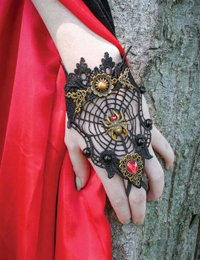 Widow's Web Lace Bracelet