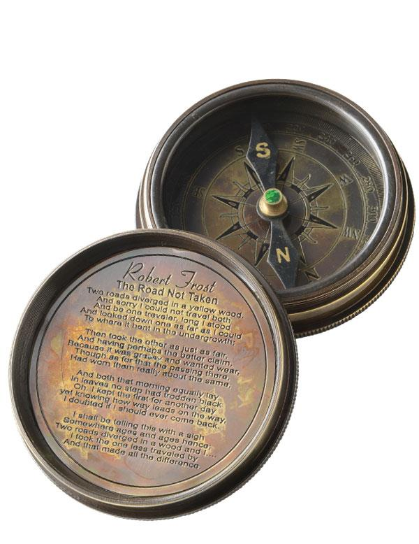 Details about  /Victorian Trading Kelvin /& Hughes London Road Less Traveled Pocket Compass