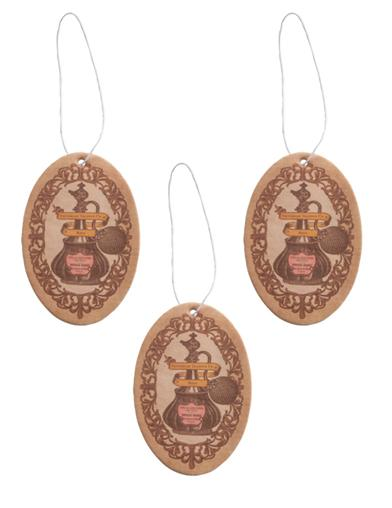 Rambling Rose Car Freshener (Set Of 3)
