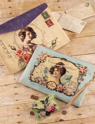 Victorian Ephemera Collage Carriers Save On Set