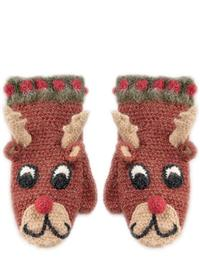 Rudolph's Red Nosed Mittens