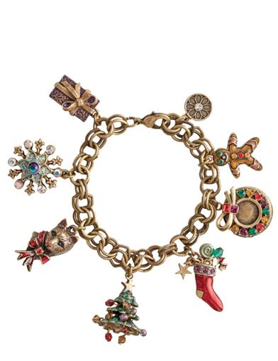 The Charms Of Christmas Bracelet