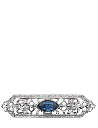 Marquise Filigree Bar Pin