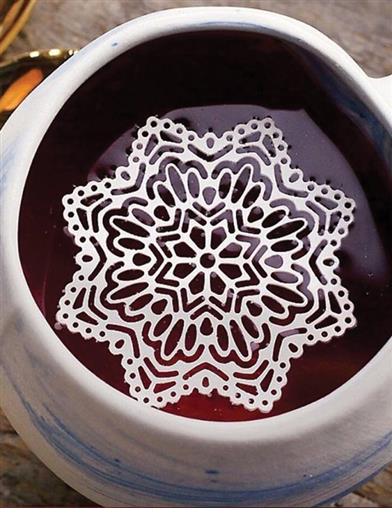 Snowflake Sugar Doilies (Set Of 8)