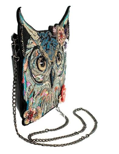 Mary Frances Spirit Owl Purse