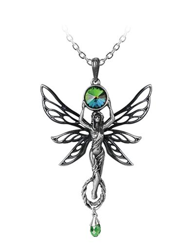 Absinthe Fairy Pendant Necklace
