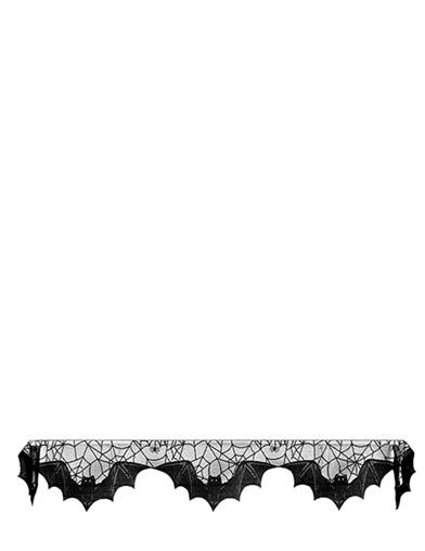 Macabre Mansion Mantlepiece Linen