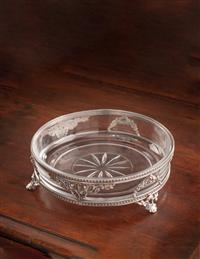French Empire Footed Vanity Tray