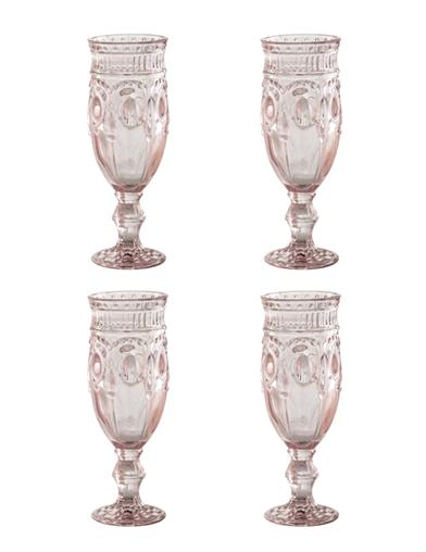 Rosebud Champagne Flutes (Set Of 4)