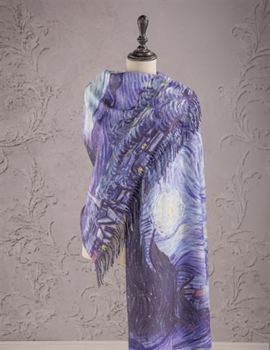 The Starry Night By Van Gogh Scarf
