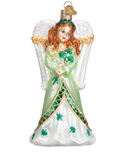 Radiant Celtic Angel Ornament