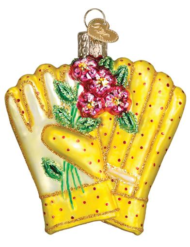 A Gardener's Gloves Ornament