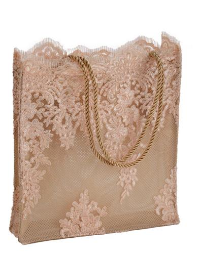 Eyelash Lace Shopper Bag