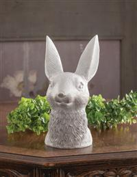 Bunny In Bloom Vase