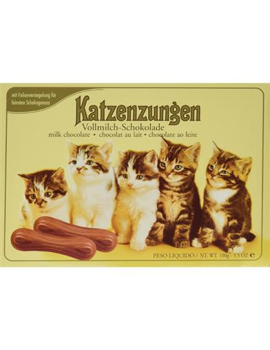 Sarotti Katzenzungen Chocolate Cat Tongues