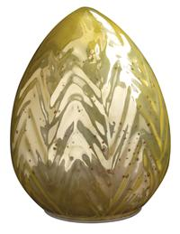 Gold Mercury Glass Egg