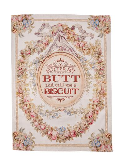 Butter My Butt Tea Towel