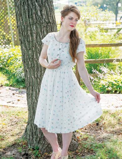 April Cornell Camp Swallow Porch Dress