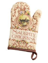 Naughty Chickens Oven Mitt