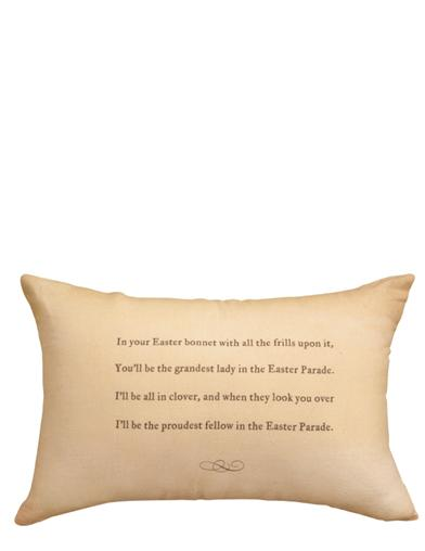 Easter Parade Pillow