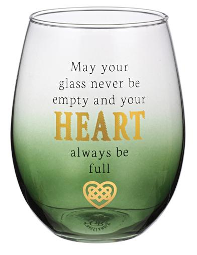 Celtic Blessings Wine Glass (Blessings Of Love)