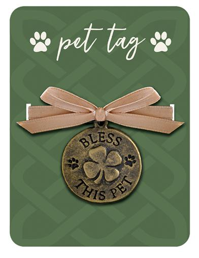 Bless This Pet Collar Tag