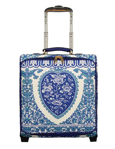 Blue Willow Carry-on Suitcase