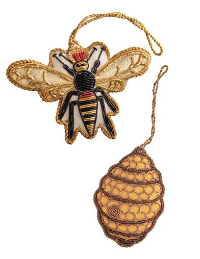 Her Highness And Honey Ornaments (Set Of 2)