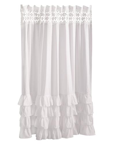 Petticoat Shower Curtain