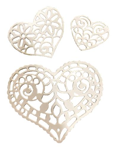 Sweetheart Sugar Doilies (Set Of 12)