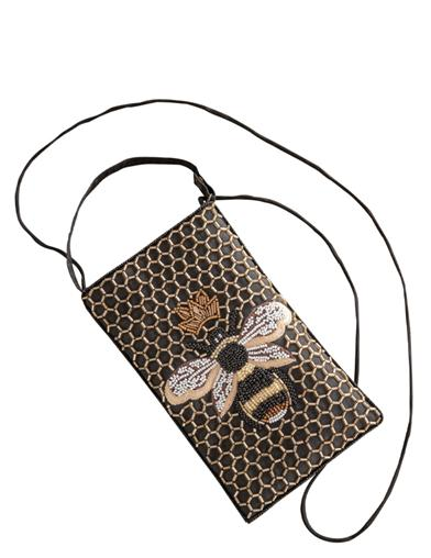 Queen Bee Crossbody Purse