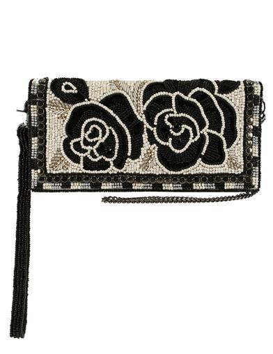 Mary Frances Best Buds Beaded Crossbody Wallet