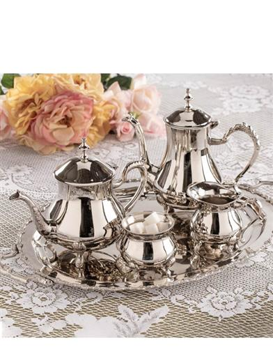 English Manor Silver Tea & Coffee Service